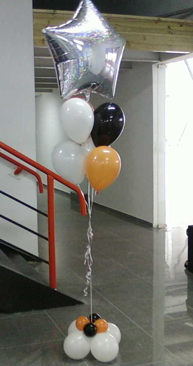 Букет из шаров на открытие клуба в Киеве